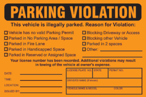 Chicago Parking Tickets